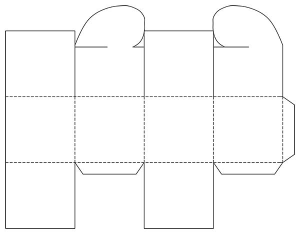 Как сделать сердечко коробочку из бумаги