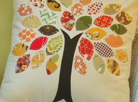 «Осенняя» подушка