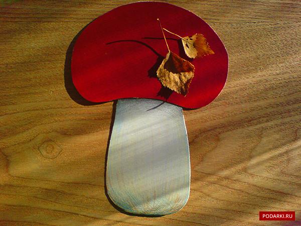 Открытка «Осенний гриб»