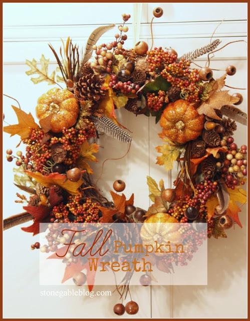 Осенний венок из листьев своими руками 35