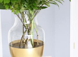Золотая ваза своими руками