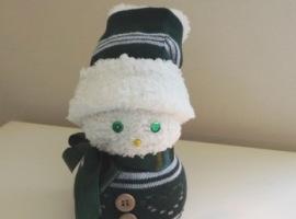 Милый снеговик своими руками