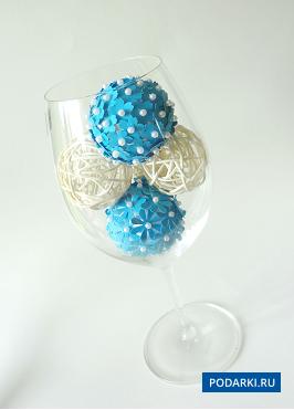 Декоративные шарики украшения своими руками