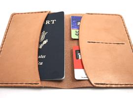 Кожаный чехол для паспорта своими руками