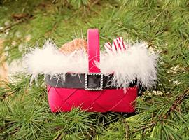 Новогодняя «корзинка подарков»