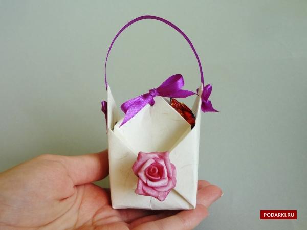 Как сделать коробку из оригами из бумаги 89