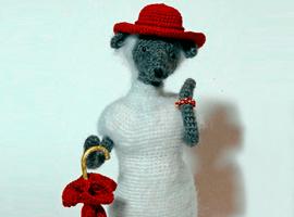 Вяжем крючком Овечку-кокетку