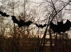 Гирлянда «Летучие мыши»