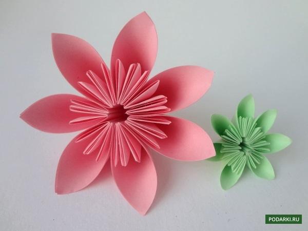 Оригами тюльпаны из бумаги своими руками