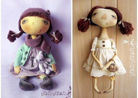 Авторские куклы своим руками 576