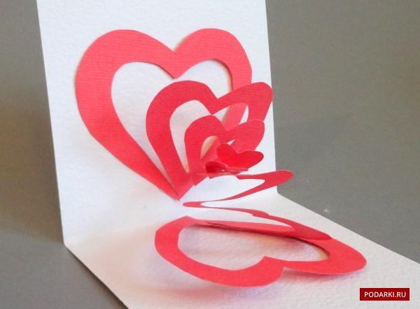 Пуговичные сердечки