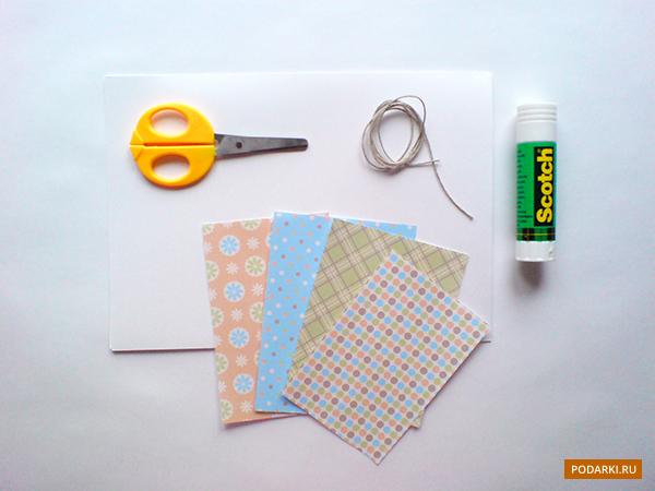 материалы для открытки