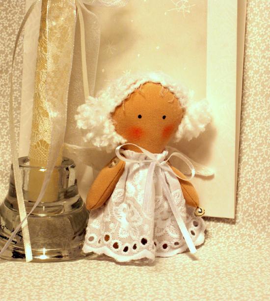 Ангел в подарок своими руками