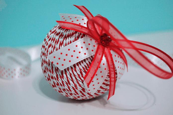 Новогодние игрушки своим руками из пенопласта
