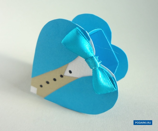 Коробочка своими руками сердечком