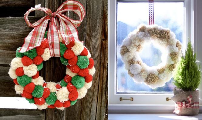 Как украсит дом к новому году своими