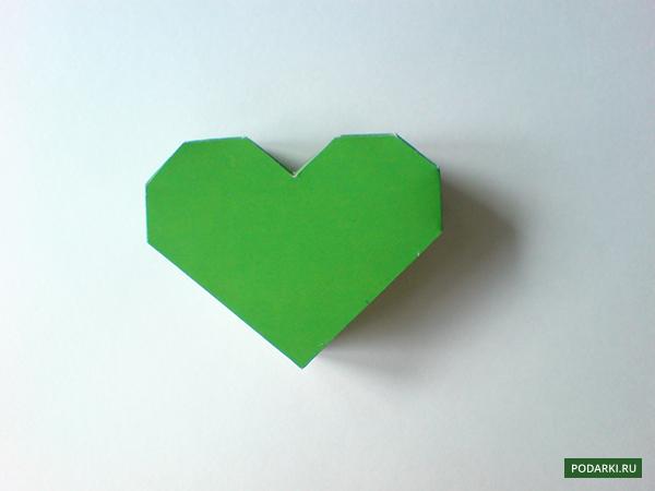 Коробочка сердечко как сделать коробочку из картона фото 543