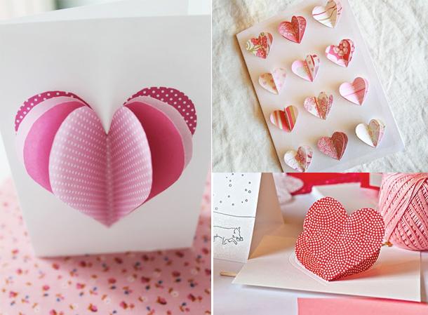 Красивые и легкие валентинки своими руками