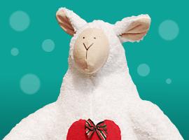 Шьём овечку к Новому году