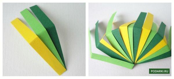 Ёлочная игрушка своими руками сделать из бумаги
