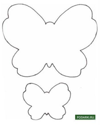 3 д бабочки своими руками
