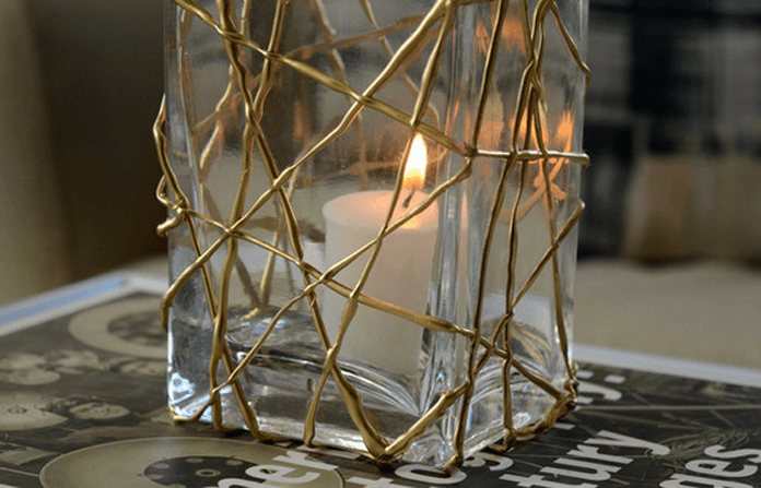 Прямоугольная ваза