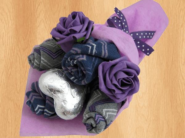 Подарки из носков для мужчин своими руками