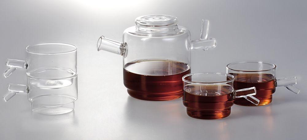 Чайный набор Прозрачная весна на 4 персоны