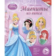 Набор для творчества Магниты из гипса Принцессы Disney