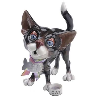 Фарфоровая фигурка котёнка Cocoa