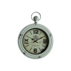 Винтажные настенные часы белого цвета
