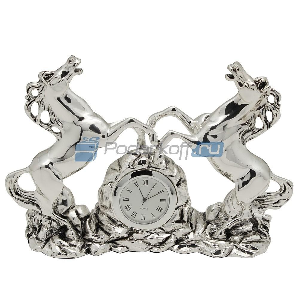 Часы Пара лошадей
