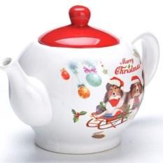 Заварочный чайник с крышкой Собачки на санях
