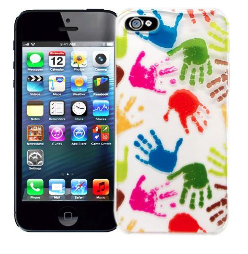 Чехол для iPhone 5 Hand Prints