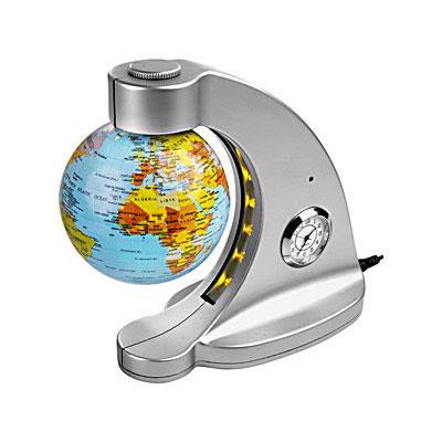 Часы «Терра Инкогнито» с подсветкой и глобусом