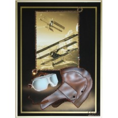 Картина с кристаллами Swarovski Пилотаж