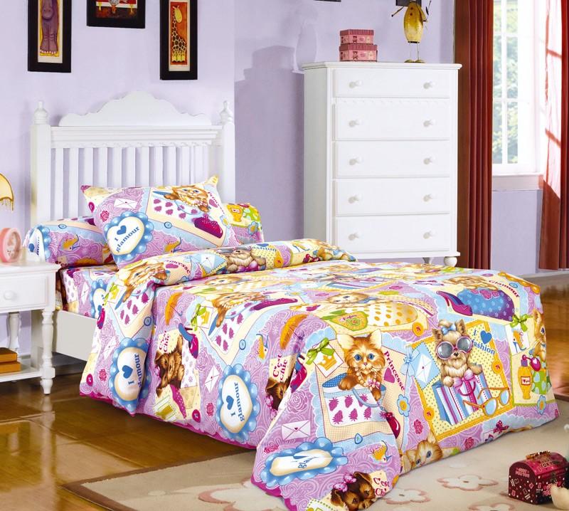 Комплект постельного белья Модники (ясельный)