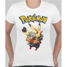 Женская футболка Пикачу мальчик