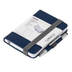 Синий блокнот Lilipad с ручкой Liliput