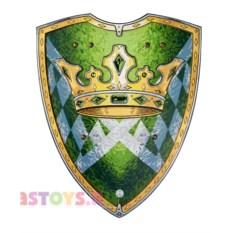 Игрушечный щит короля (цвет: зеленый)