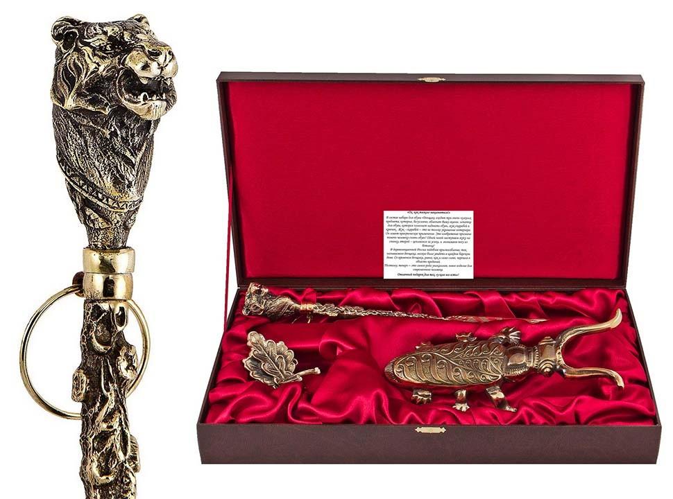 Подарочный набор Денщик Тигр