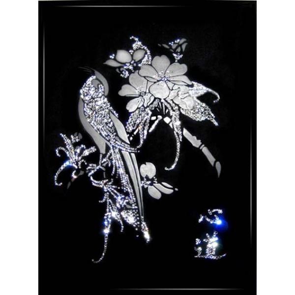 Картина с кристаллами Swarovski Песня любви
