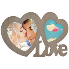 Фоторамка Любовь для 2 фото