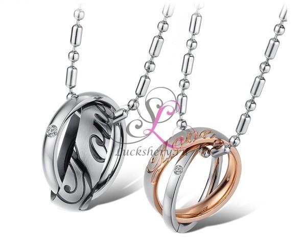Кулон для двоих Кольцо любви