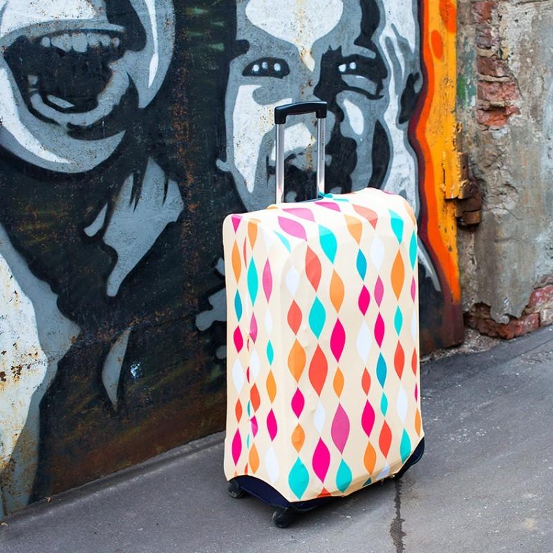 Чехол для чемодана FA FIT - Stripes ML