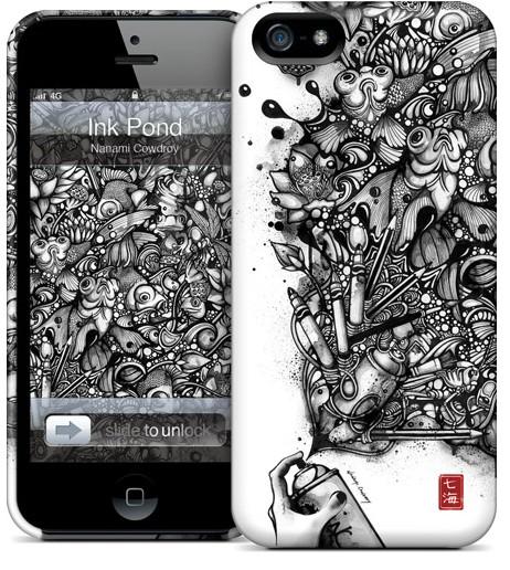 Чехол для iPhone 5 Gelaskins Ink Pond
