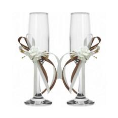 Набор свадебных бокалов №48