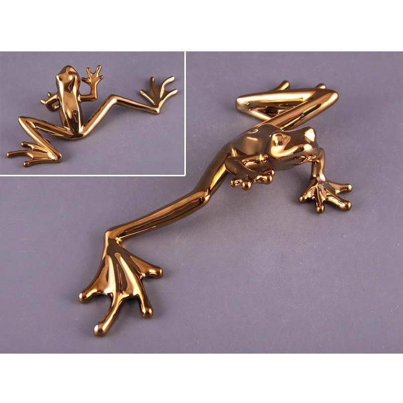 Фигурка Лягушка золотистая