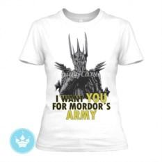 Женская футболка Mordors Army