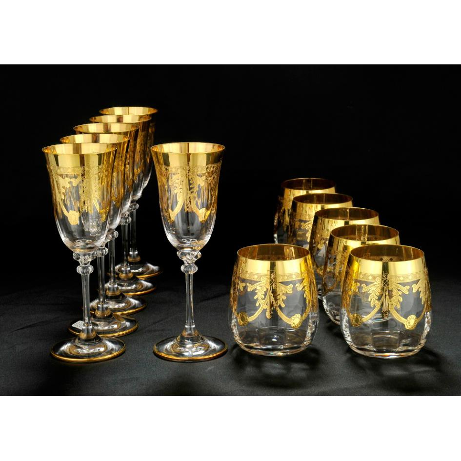Набор бокалов для виски и  вина